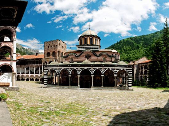 (Image) bulgarie rila monastere