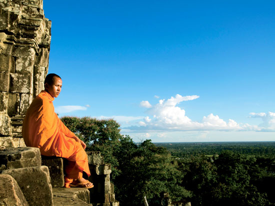 cambodge moine  istock
