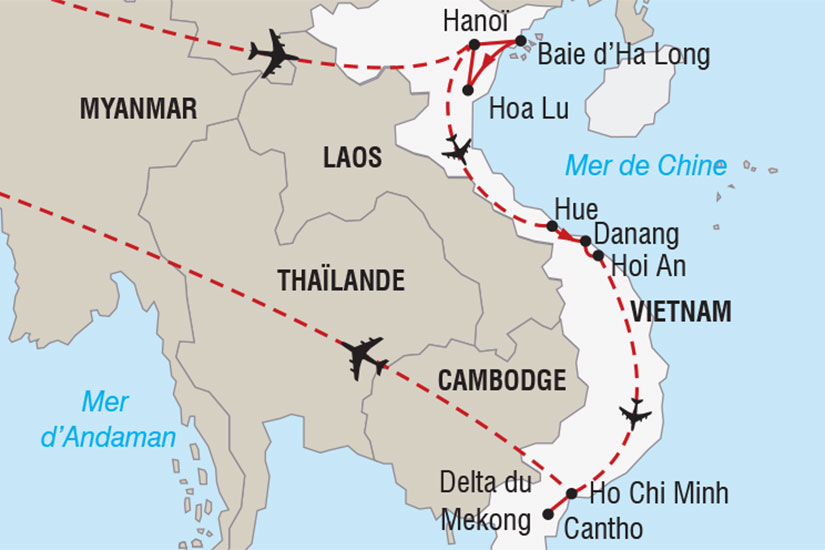 carte vietnam reveillon baie halong 521713