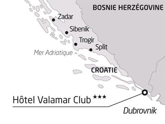 Croatie Carte Hotel.Sejour Croatie Sejour Decouverte En Istrie Croatie 8 Jours