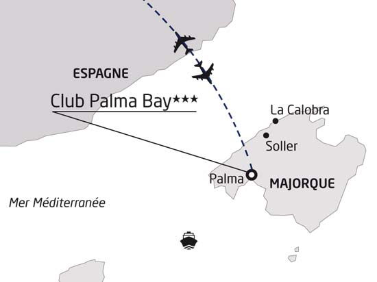 carte majorque club palma bay 368723