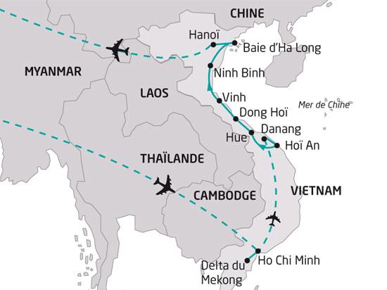 circuit vietnam escapade vietnamienne 12 jours la boutique des groupes. Black Bedroom Furniture Sets. Home Design Ideas