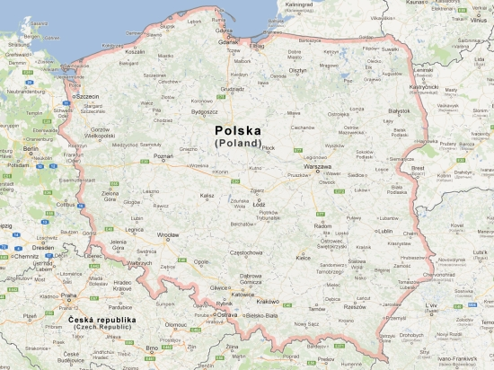 (Map) carte carnet pologne