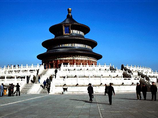 (Image) chine pekin temple des cieux