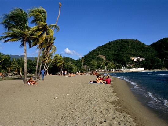 (Image) cuba santiago siboney beach