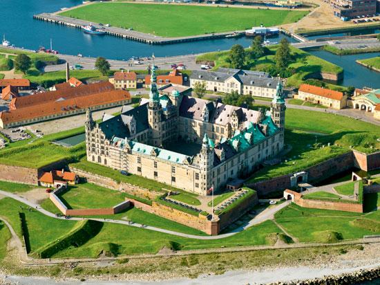 (Image) danemark copenhague forteresse de kronborg  fotolia