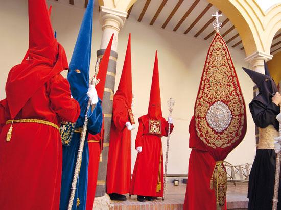 (Image) espagne andalousie seville penitence semaine sainte  fotolia