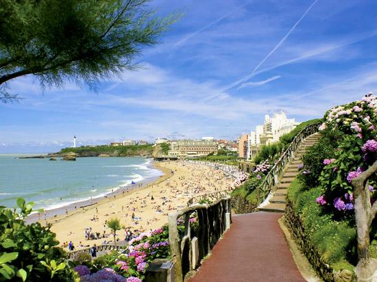 france pays basque biarritz