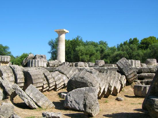 grece olympie  fotolia
