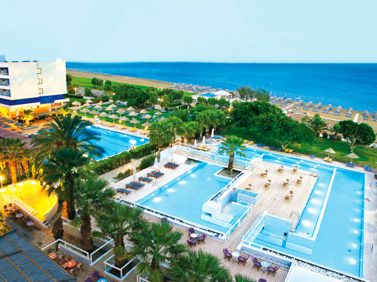 grece rhodes hotel blue sea beach resort