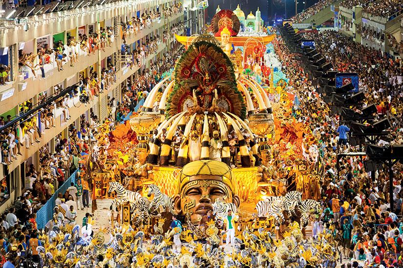image bresil carnaval rio de janeiro
