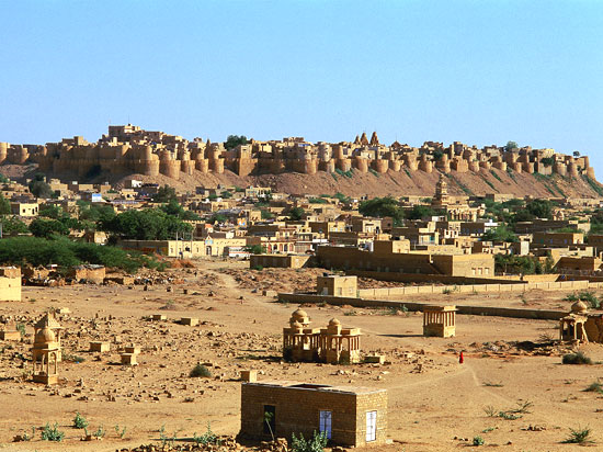 inde rajasthan jaisalmer stronghold  istock