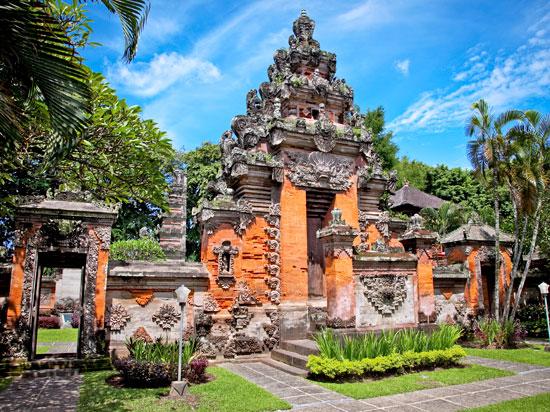 (Image) indonesie bali temple  fotolia