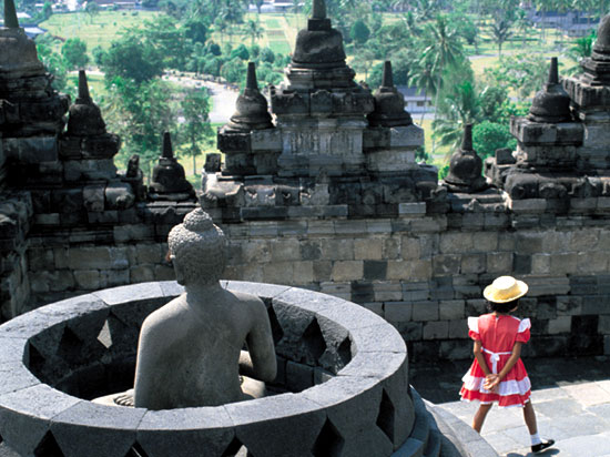 indonesie java temple de borobudur