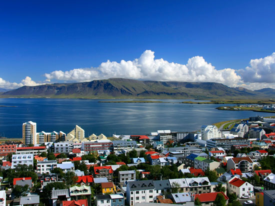 islande reykjavik  istock