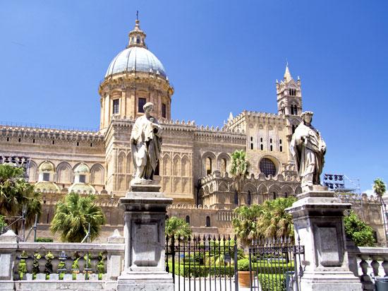 italie sicile palerme cathedrale  fotolia