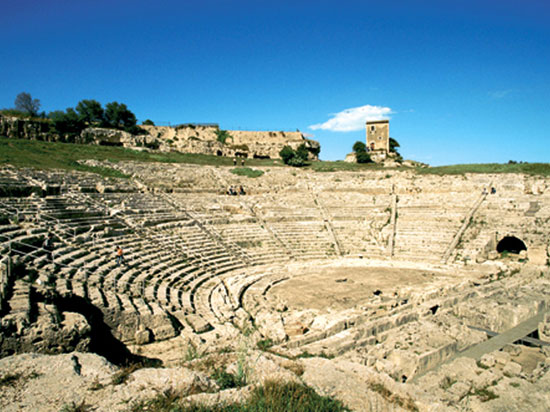 italie sicile syracuse greek theatre