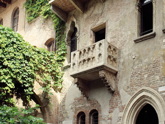 italie verone balcon  fotolia
