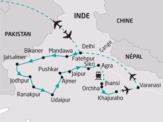 Circuit Inde L Inde Du Nord Et La Vall 233 E Du Gange 18 Jours