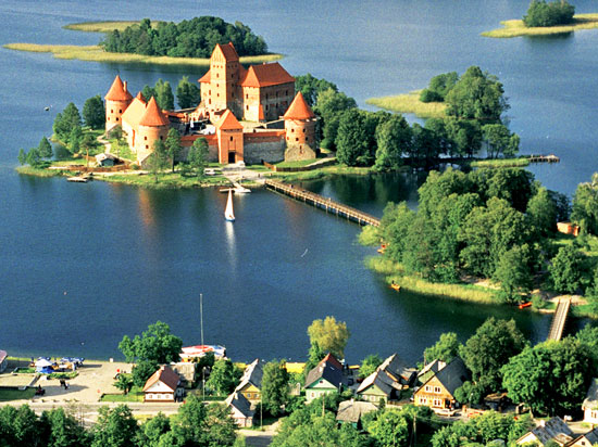 lituanie trakai chateau
