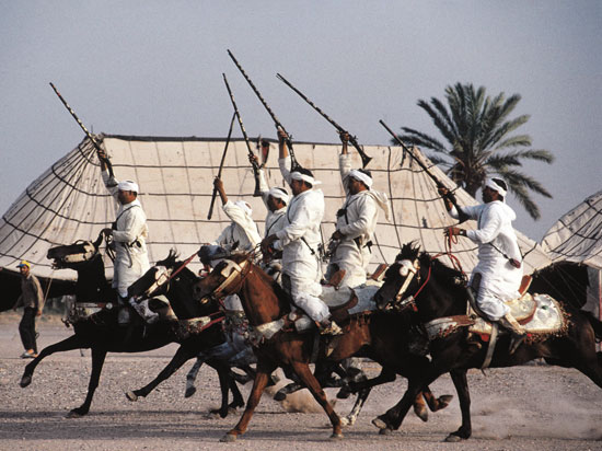 maroc fes fantasia 2012