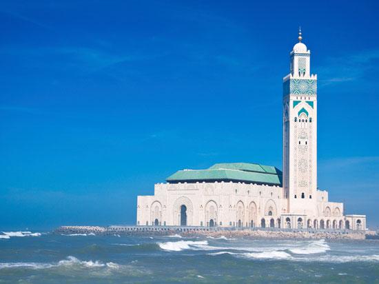maroc casablanca mosquee hassan ii 2012