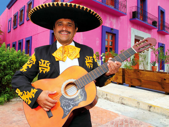 (Image) mexique guitariste mexicain  fotolia