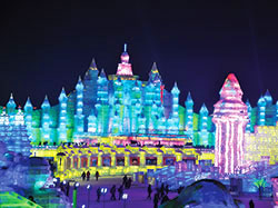 chine harbin festival sculptures glace