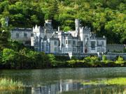 voyage autocar irlande abbaye de kylemore  istock