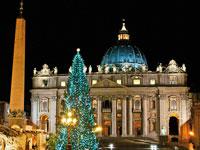 voyage en autocar italie rome basilique st pierre noel  fotolia