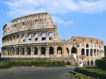 mini italie rome colisee