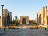 ouzbekistan samarcande palce reghistan  istock