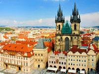 image du voyage scolaire Prague