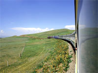 Chine - Mongolie - Russie, Voyage dans le train de tous les records