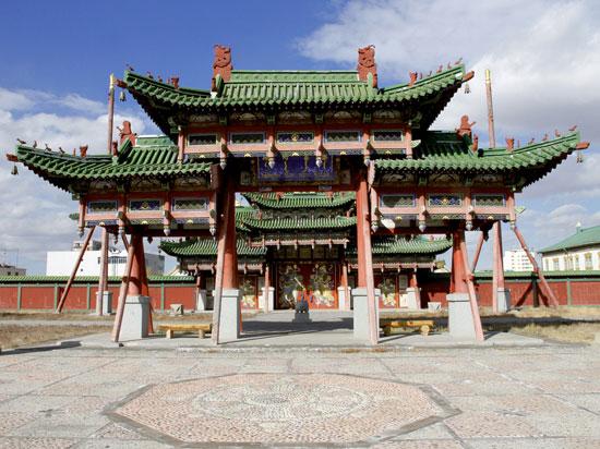 (Image) mongolie oulan bator palais bogdo khan