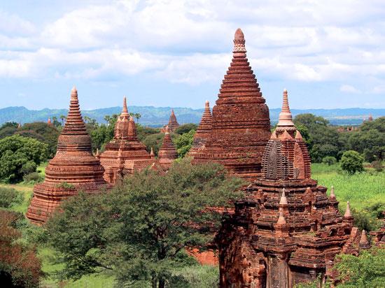 (Image) myanmar birmanie temple de baga fotolia