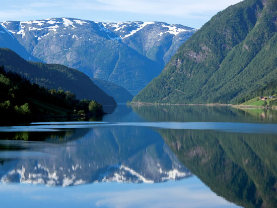 norvege fjords  fotolia