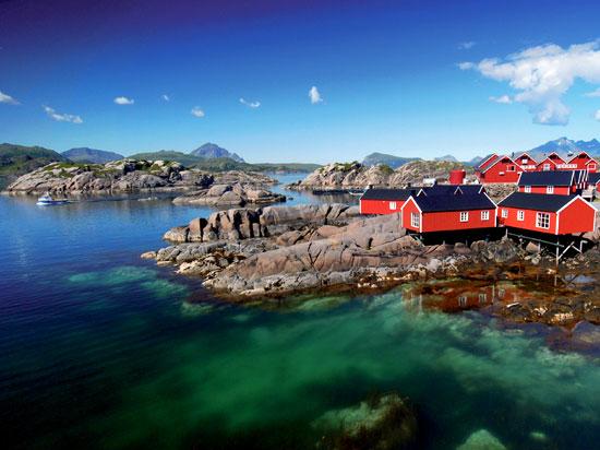 (Image) norvege lofoten  fotolia