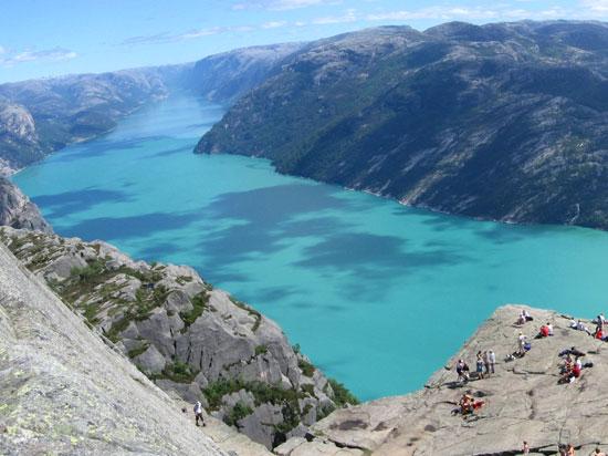(Image) norvege lysefjord  fotolia