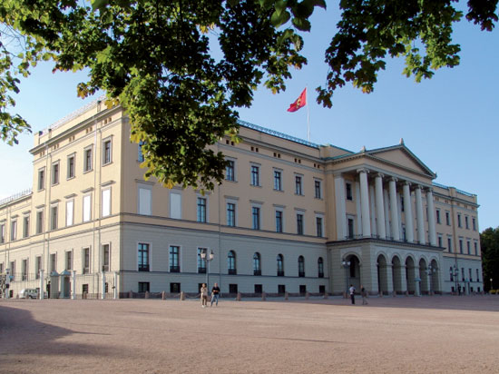 norvege oslo palais royal  istock