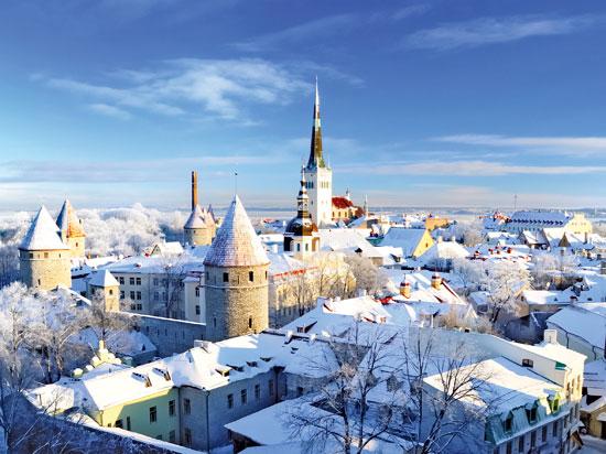 nouvel an sur la baltique