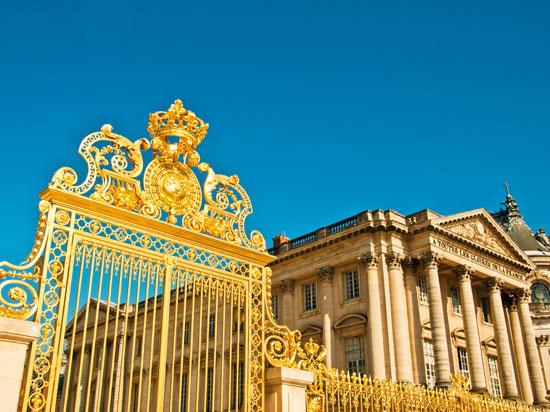 paris versailles chateau portail  fotolia