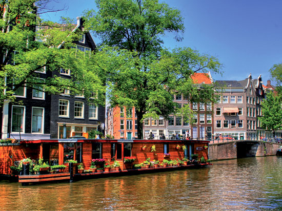 (Image) pays bas amsterdam canaux  fotolia