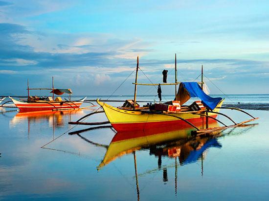 philippines visayas pirogues  istock