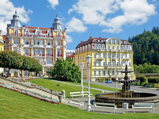 (Image) republique tcheque marianske lazne hotel hvezda fotolia