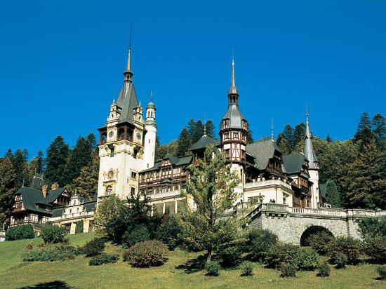 (Image) roumanie chateau peles 2012