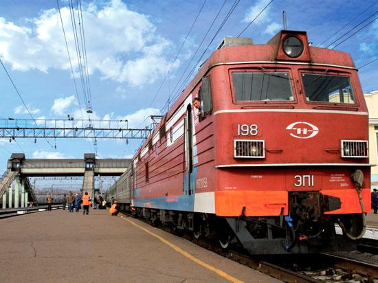 russie transsiberien train