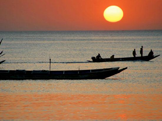 (Image) senegal coucher soleil