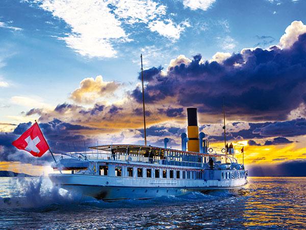 suisse lac leman bateau