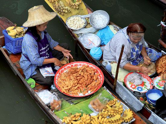 thailande damnoen saduak